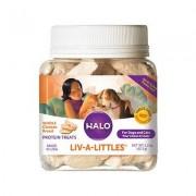 Halo Liv-a-Littles Grain-Free 100% Chicken Breast Freeze-Dried Dog & Cat Treats, 2.2-oz