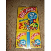 Getting Hooked On Phonics Work Book, Flash Cards & Audio Cassette Set