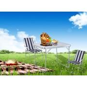 Kempingový set SPARTAN (stôl + dve stoličky)