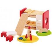 Hape - E3456 - Jeu D'imitation En Bois - Maison De Poupées - Chambre D'enfant
