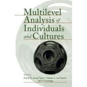 Multilevel Analysis of Individuals and Cultures by Fons J. R. Van De Vijver