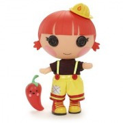 Lalaloopsy Littles Doll Embers Little Sister - Red Fiery Flame