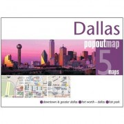 Universal Map Dallas PopOut Map (Set of 2) 27143