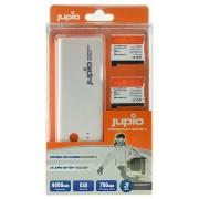 Jupio Power Vault încărcător baterie + 2 x AHDBT-401 GoPro Hero4