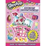 Shopkins House Party Sticker and Activity by Little Bee Books