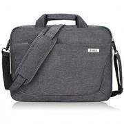 Zikee 15 15.6 inch laptop shoulder bag briefcase for men/women with handle/pocket/strap laptop sleeve messenger notebook Carrying Case for Acer Aspire E&Chromebook/Asus/Dell/HP Pavilion