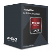 "AMD Athlon X4 860 K Black Edition FM 5,08 cm (2"") Kaveri ""Near-CPU con ventola silenziosa, Quad Core, 3,4 GHz, 4 GHz, Boost, 95 W)"