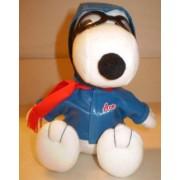Peanuts Metlife Flying Ace Pilot Plush Blue Jacket, Helmet
