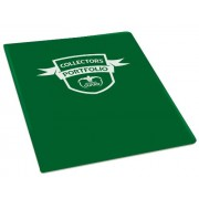 Ultimate Guard 4-Pocket Portfolio Standard Size Green Ultimate Guard