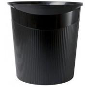 Cos de birou pentru hartii, 13 litri, HAN Loop - negru