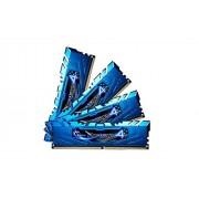 G Skill Ripjaws 4 F4-2400C15Q-32GRB - Kit Memoria RAM 32Gb DDR4-2400 MHz
