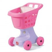 Step2 Little Helpers Shopping Cart Pink And Purple