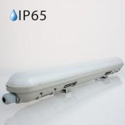 Armadura compacta LED 48w»300W 150cm Luz Natural 4200Lm IP65