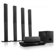 Sistem Home Cinema Philips HTB3580G, 3D Blu-Ray, Bluetooth, NFC, LAN