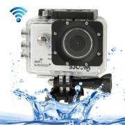 SJCAM SJ5000+ Ambarella Full HD 1080P 1.5 inch LCD Screen WiFi Sports Camcorder Camera with Waterproof Case 16.37 Mega CMOS Sensor 30m Waterproof(White)