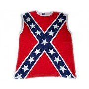 T-shirt/Linne Dixie Flag