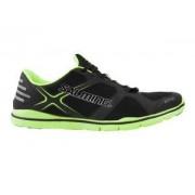 Salming Xplore Shoe 2.0 Men Black černá / zelená Muž UK 8,5 EU 43 1/3