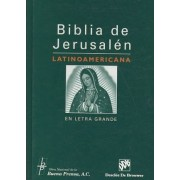 Biblia de Jerusalen Latinoamericana en Letra Grande-OS by Various