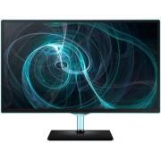 "Monitor TV PLS LED Samsung 23.6"" T24D390, Full HD, 5ms GTG, HDMI, Boxe, TV Tuner inclus (Negru)"