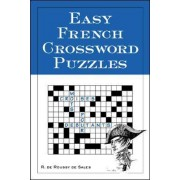 Easy French Crossword Puzzles by R.De Sales