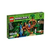 LEGO Minecraft 21125 The Jungle Tree House Playset