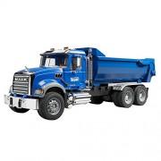 Bruder 02823 - Mack Granite Camion Cassone Ribaltabile Halfpipe