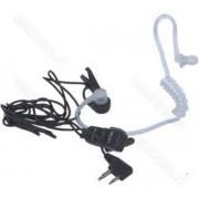 Casca cu tub acustic Midland Ma31-L, 2 pini PTT si VOX, Pentru statii radio portabile