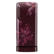 LG 190 L 5 Star Direct-Cool Single Door Refrigerator (GL-D201ASAZ.ASAZEBN, Scarlet Aster)