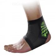 MLD LF1127 tobillo proteccion para pies corse protector - Negro + Verde (M)