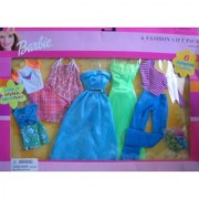 Barbie 6 Fashion Gift Pack - Lots of Styles Lots of Fun! (2001)