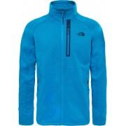 The North Face Canyonlands Full Zip Jacket Men Hyper Blue Heather XXL Fleecejacken