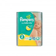 Scutece copii Pampers Active Baby Dry nr. 2 17 buc./set