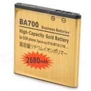 Ba700 Li-ion 1200mAh Reemplazar Bateria para Sony Ericsson BA700 - Oro