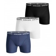 Björn Borg 3-Pack Shorts Blue Depths Boxerkalsonger Herr