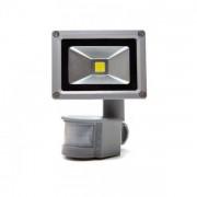 Proiector LED 10W cu Senzor Miscare Alb Cald 220V