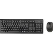 Kit tastatura cu mouse Wireless A4Tech 7100n USB Black