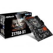 ASRock Z170A-X1 Scheda Madre Intel 1151, Nero