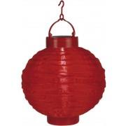 Star Trading Solenergi risboll röd 20cm