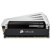 Corsair CMD16GX4M4A2666C15 Dominator Platinum Memoria per Desktop di Livello Enthusiast da 16 GB (4x4 GB), DDR4, 2666 MHz, CL15, con Supporto XMP 2.0