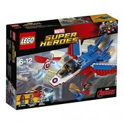 LEGO - 76076 - La Poursuite en Avion de Captain America