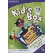 Kid's Box Level 5 Interactive DVD (PAL) with Teacher's Booklet by Caroline Nixon