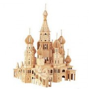 St. Petersburg Church 3D Puzzle by Puzzled