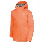 The North Face Youth Snow Quest Jacket Peel Orange Vinterjacka Barn