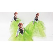 Tubetes Personalizados Frozen - Anna