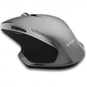 Verbatim Wireless Desktop 8-Button Deluxe Blue LED Mouse Graphite 98622