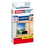 Tesa 55667-21-00 Zanzariera per finestra 100x100 cm colore: Antracite