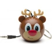 Boxa Portabila KitSound MyDoodle Characters Reindeer, Jack 3.5mm (Maro)