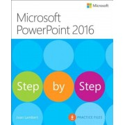 Microsoft PowerPoint 2016 Step by Step, Paperback
