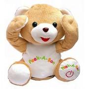 Cute Peek-a-boo Teddy Bear Animated Stuffed Animal By Bo Toys