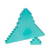 Premium Big Briks Turquoise Basic Builder Set #1 - 84 Pack - (Big LEGO DUPLO Compatible) - Large Pegs